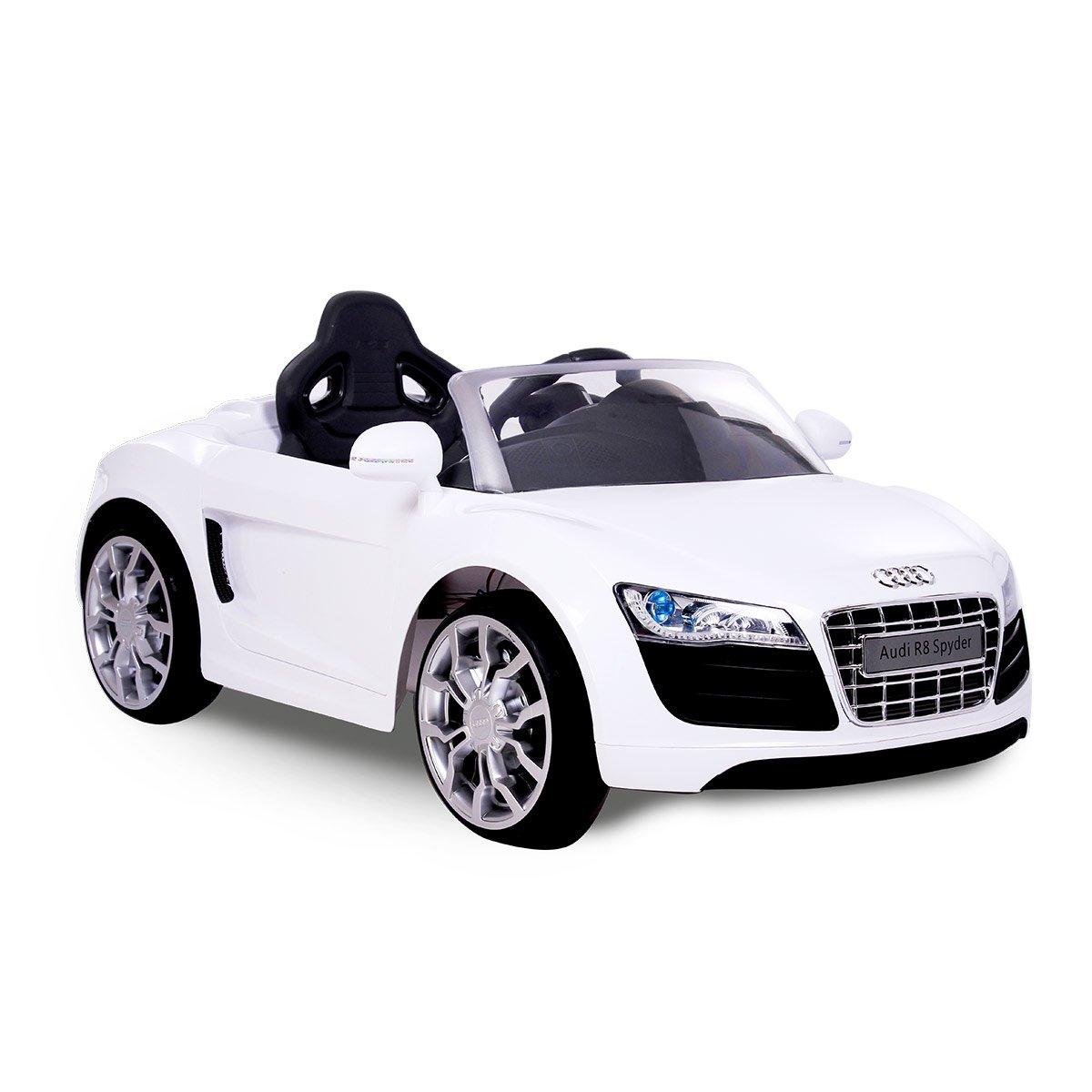 Voiture Électrique 6v R8 Véhicules Cabriolet Blanc Audi D cRqAL3S54j