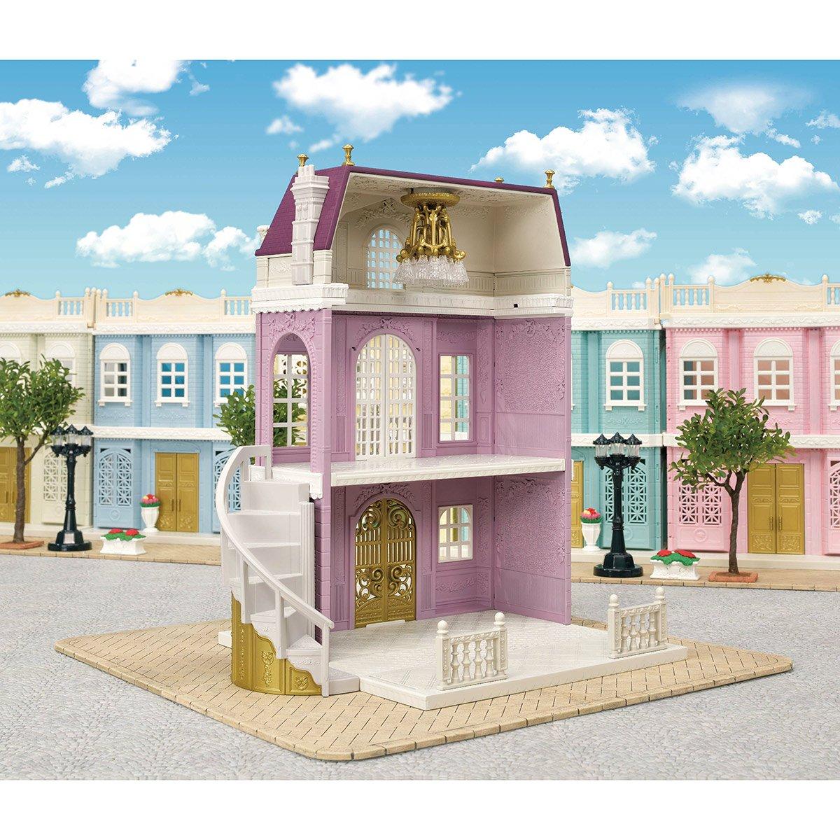 La Grande Maison De Ville Sylvanian Family 5365 Mini Univers La Grande Recre