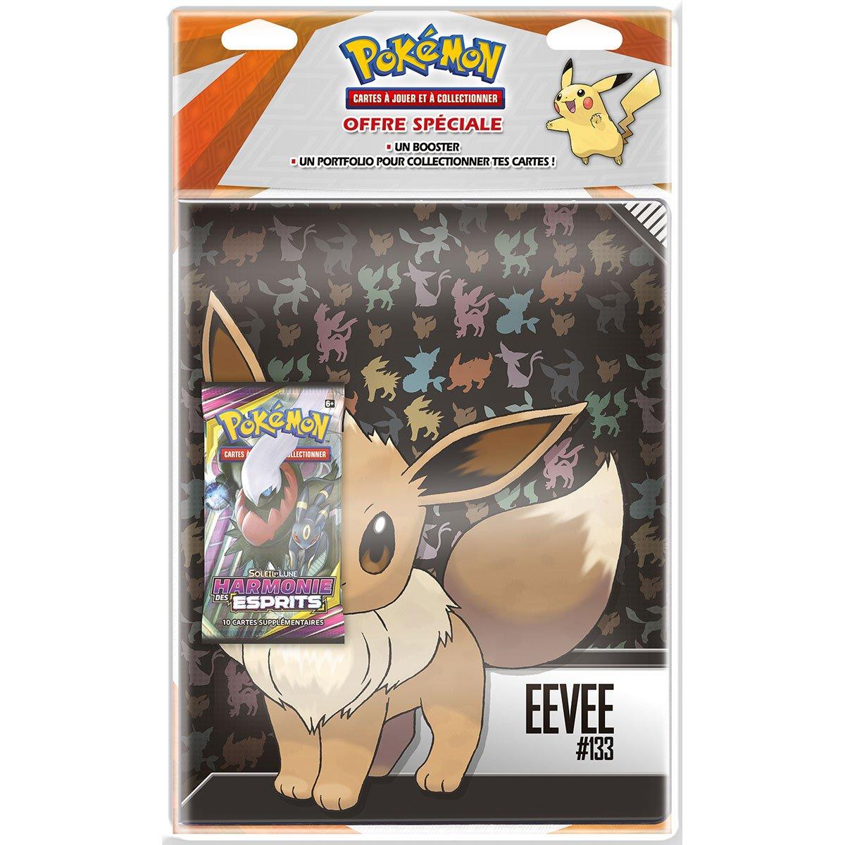 Pokemon Pack Cahier Range Cartes Booster Soleil Et Lune Harmonie Des Esprits Sl11 Cartes A Collectionner La Grande Recre