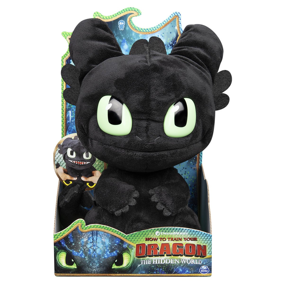 latest discount new lower prices huge sale Peluche Krokmou Deluxe Grogneuse Film Dragons 3 - Peluches ...