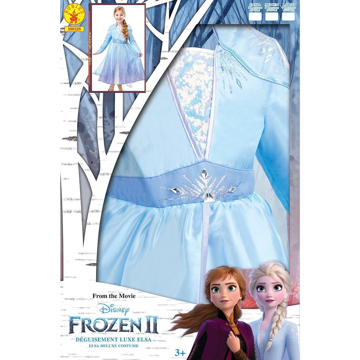 Deguisement Luxe Elsa La Reine Des Neiges 2 Taille S Deguisements Princesses Et Fees La Grande Recre
