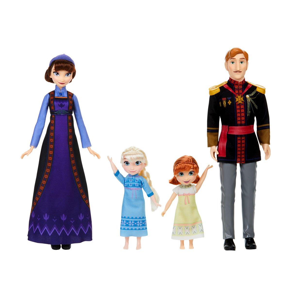 Coffret Famille La Reine des Neiges 2 Poupées classiques