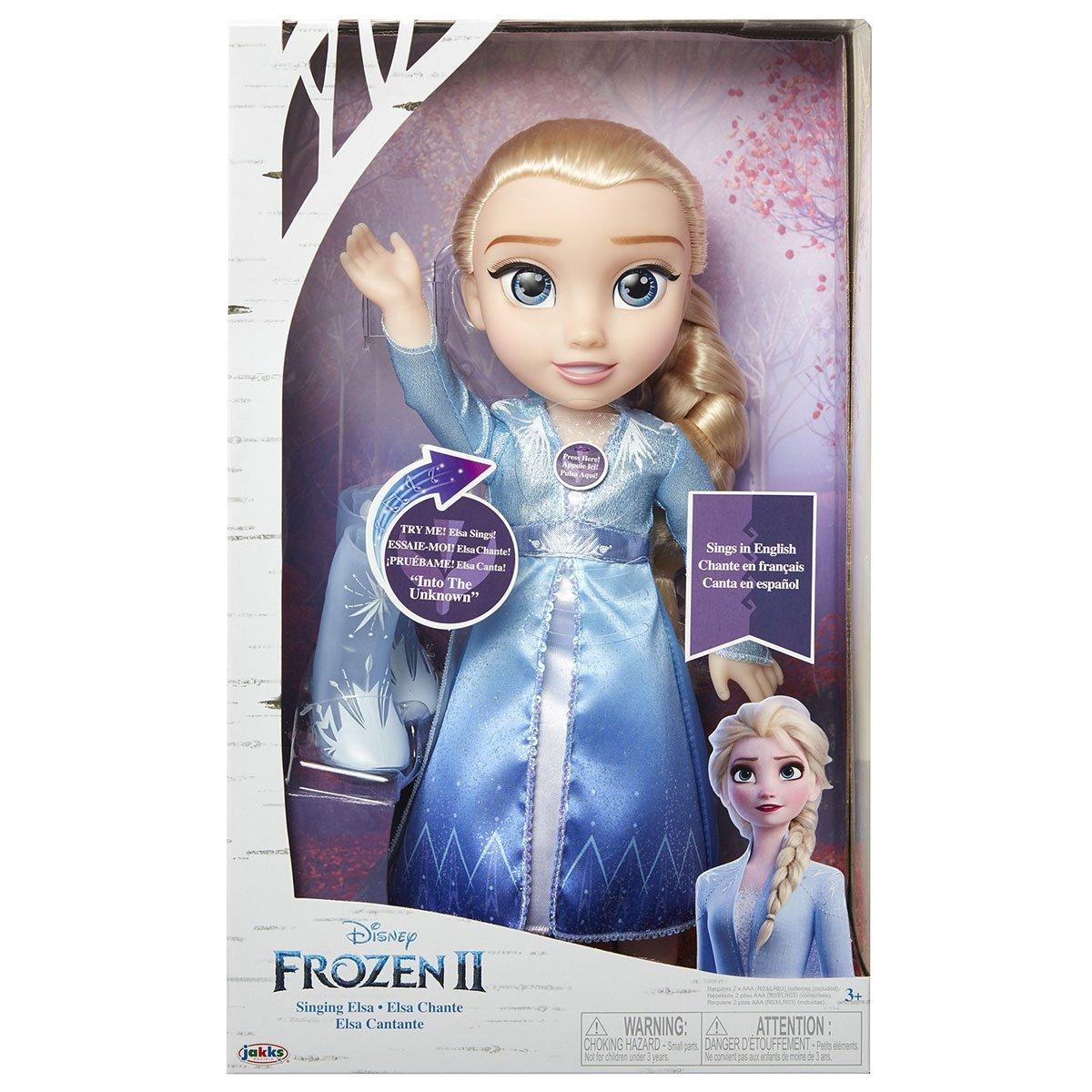 Poupée Elsa Chantante La Reine des Neiges 2 Poupées