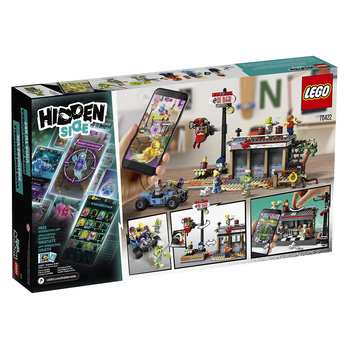 Le Restaurant Hante Lego Hidden Side 70422 Coffrets De Briques