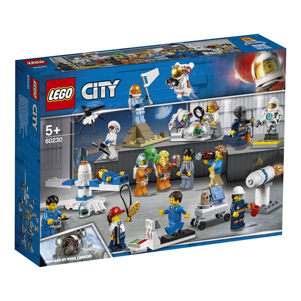 LEGO Boîte à outils pour figurine accessoires