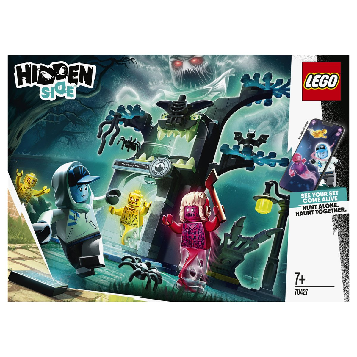 Le Monde Hante D Hidden Side Lego Hidden Side 70427 Coffrets De