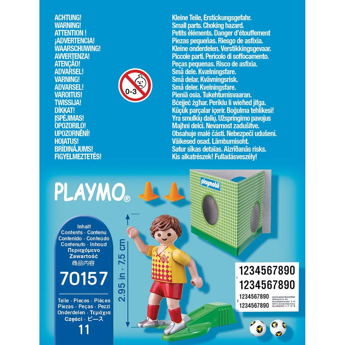 Playmobil But football enfant