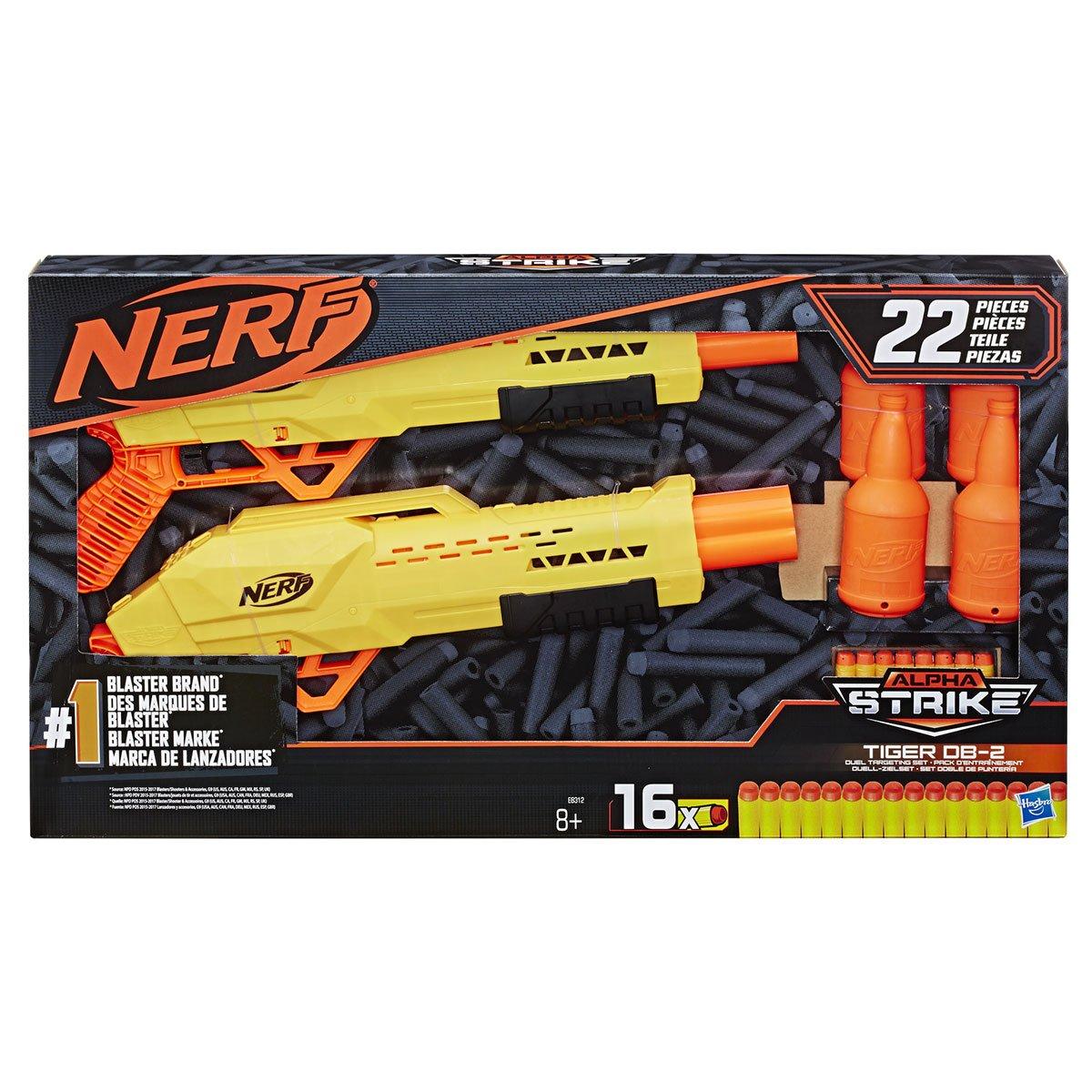Nerf Alpha Strike Tiger DB 2 Pack d'entraînement