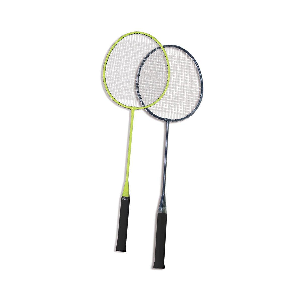 VGEBY1 Raquettes de Badminton pour Enfants Raquette de Badminton avec Balle Ronde Balle de Badminton Balle en Plume pour Enfants