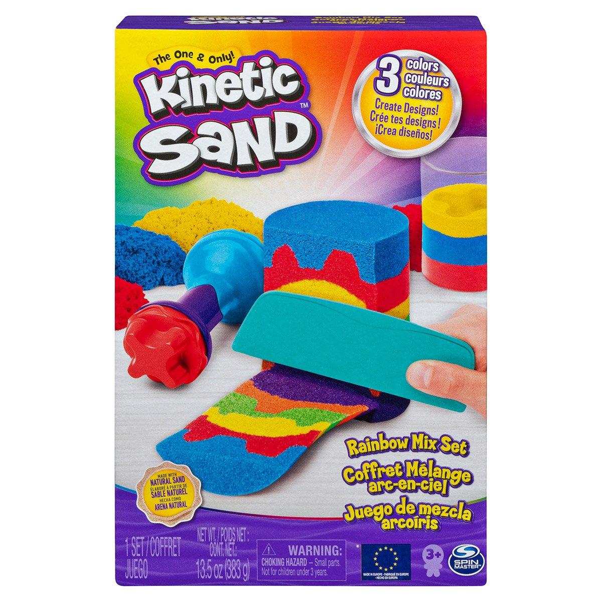 Kinetic Sand Crystal Pink 6060800 Sac de Sable Scintillant Naturel pour /écraser m/élanger et mouler 907 g