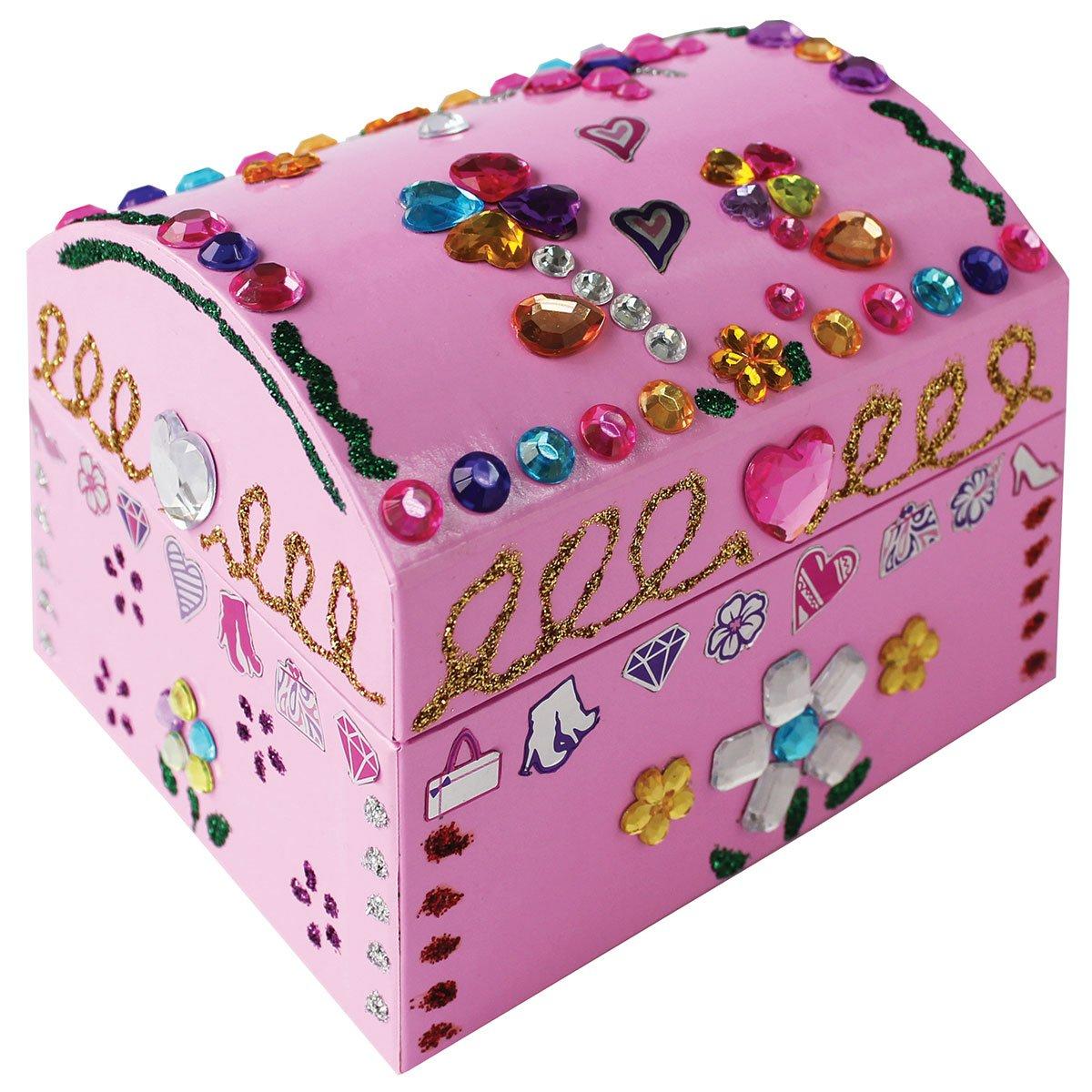 boite à bijoux à décorer enfant