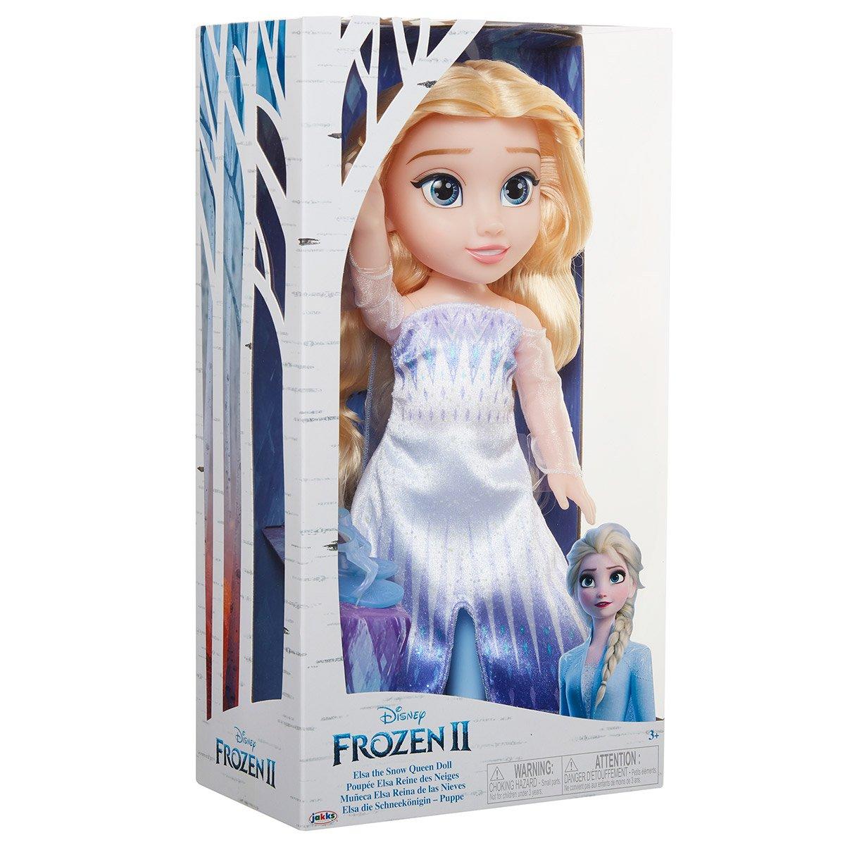 Poupee Elsa Robe Epilogue La Reine Des Neiges 2 Poupees Classiques La Grande Recre