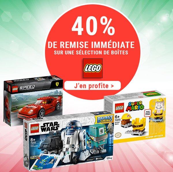 LEGO -40% sur une sélection