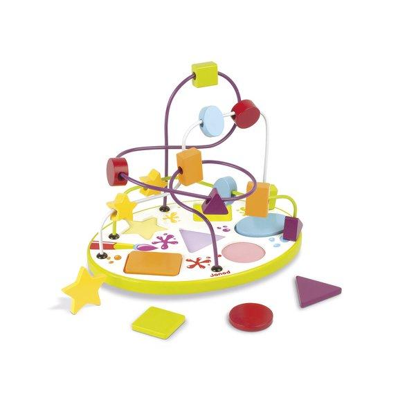 Looping puzzle formes et couleurs