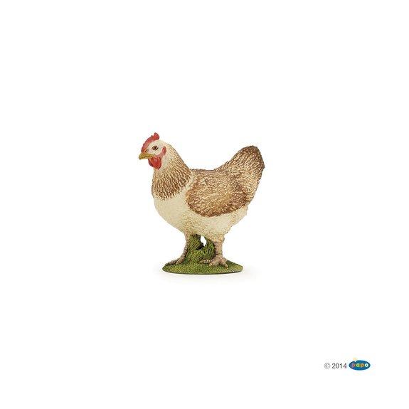 Figurine Poule Rousse