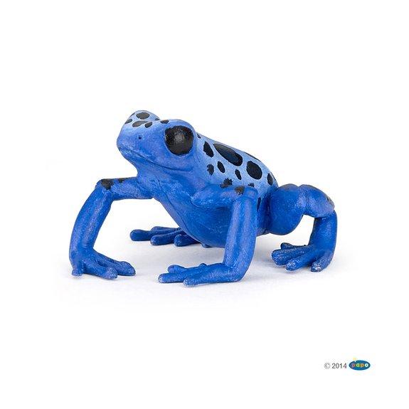 Figurine Grenouille équatoriale bleue