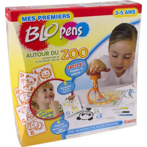 Mes premiers Blopens autour du zoo