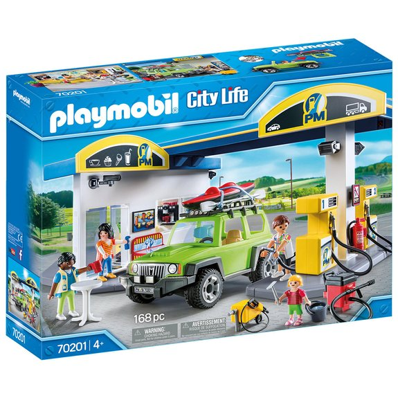Station essence Playmobil City Life 70201