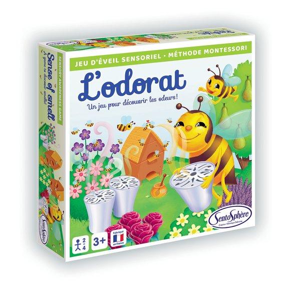 Jeu sensoriel : L'odorat, Méthode Montessori