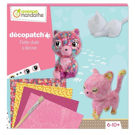 Kit créatif Décopatch - Petits Chats