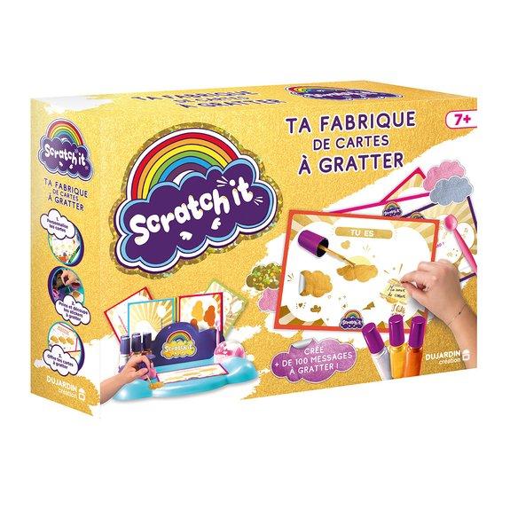 Scratch it - Ta fabrique de cartes à gratter