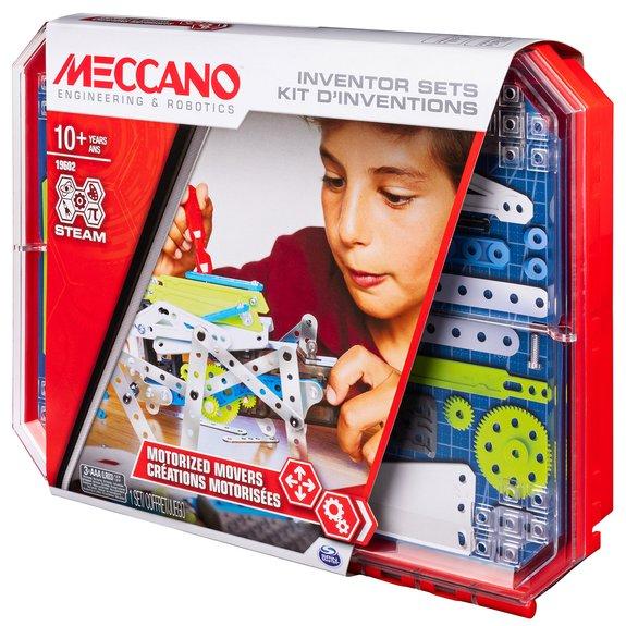 Kit d'Inventions - Créations Motorisées Meccano