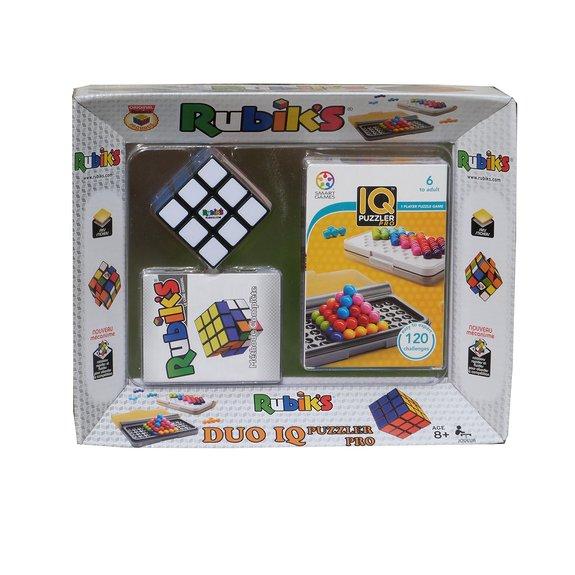 Coffret Rubiks Cube et jeu de réflexion IQ Puzzler Pro