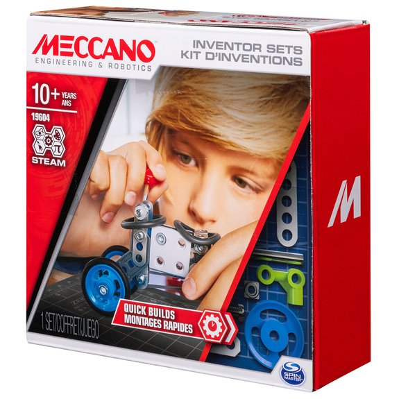 Meccano - Set 1 - Kit d'inventions montages rapides