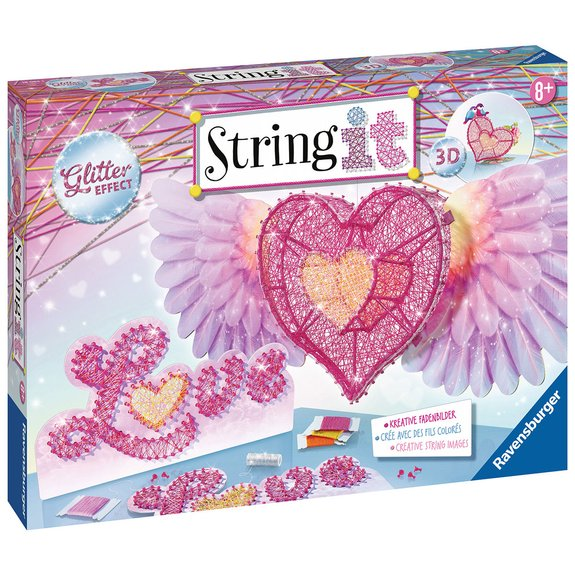 String It maxi : 3D Heart