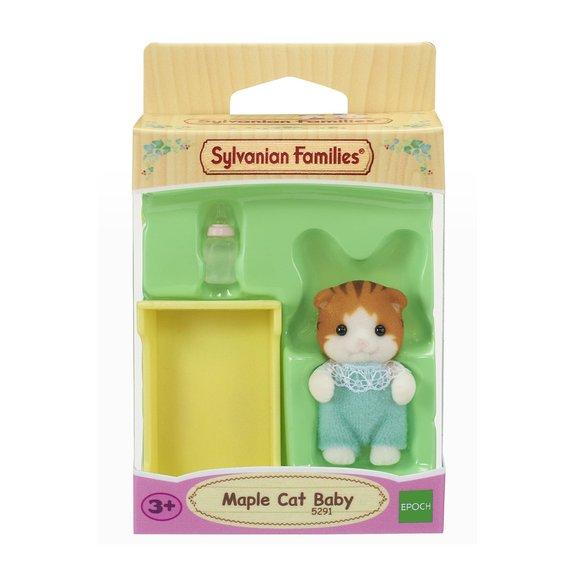 Le bébé Chat Roux - Figurine Sylvanian