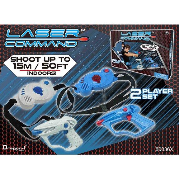 Laser Command Pursuit Challenge