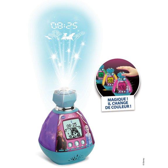 KidiMagic Color Show - Réveil magique La Reine des Neiges 2