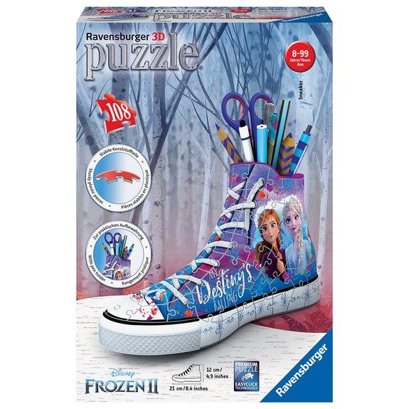 Puzzle 3D Sneaker La Reine des Neiges 2