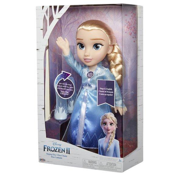 Poupée Elsa Chantante La Reine des Neiges 2