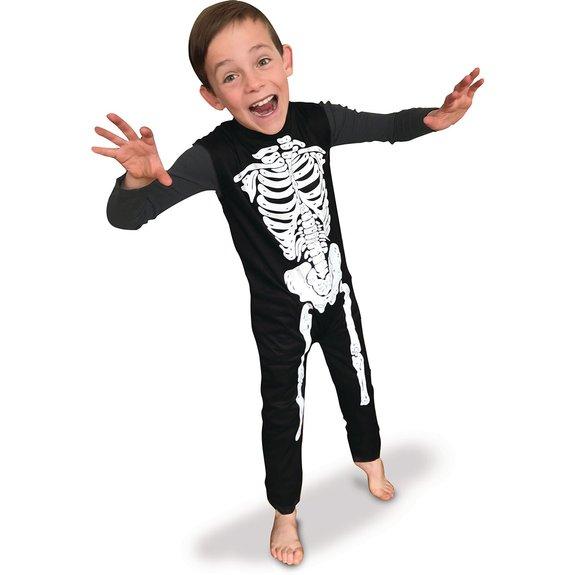 Déguisement squelette Taille S - Halloween