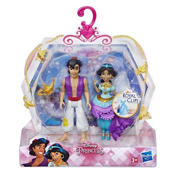 Mini-poupée Disney Princess - Princesse et son prince