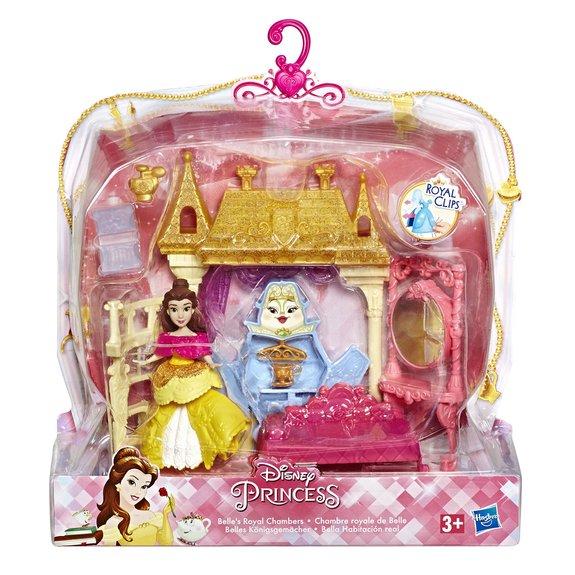 Mini-poupée Disney Princess et décor pailleté