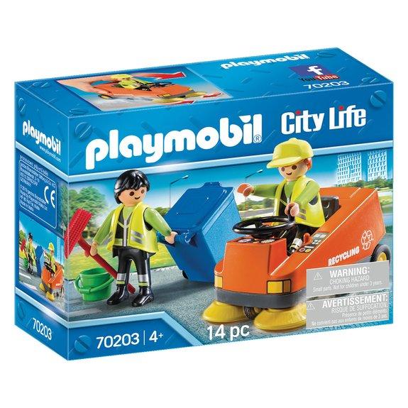 Agents d'entretien voierie Playmobil City Life 70203