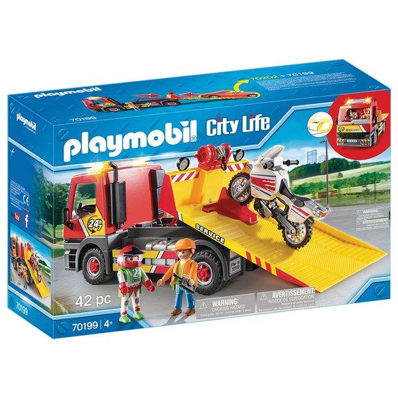 Camion de dépannage Playmobil City Life 70199