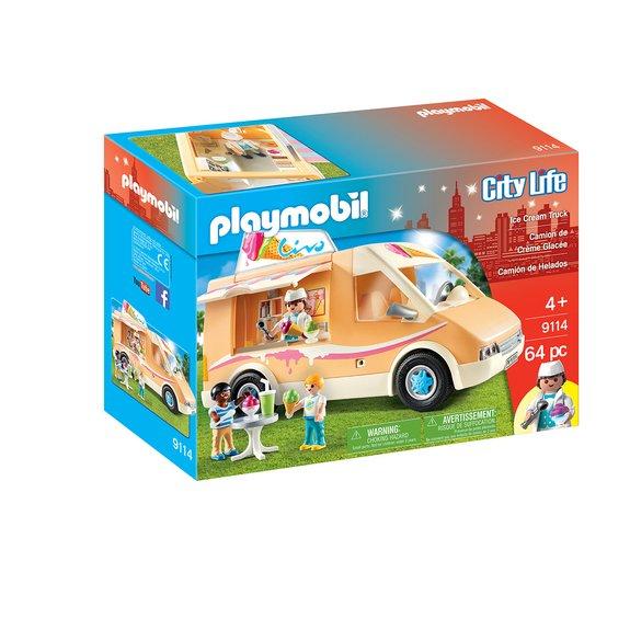 Camion de crème glacée Playmobil City Life 9114