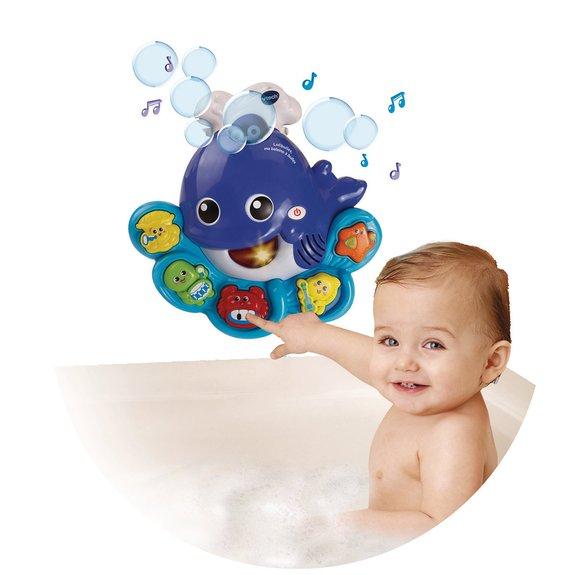 Jouet de bain Lolibulles, ma baleine à bulles
