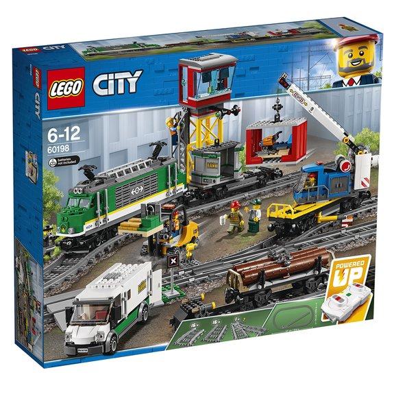 Le train de marchandises télécommandé LEGO City 60198