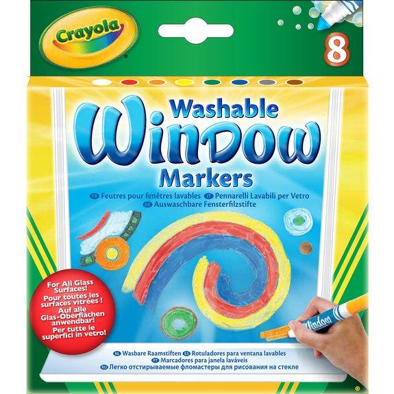 8 feutres pour fenêtre lavables