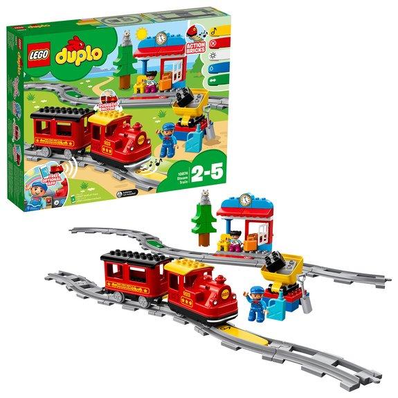 Le train à vapeur LEGO Duplo 10874