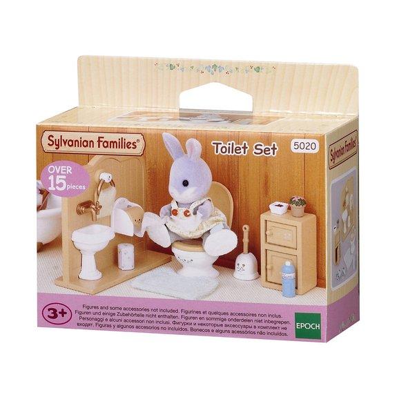 Ensemble toilettes - Sylvanian Families 3563