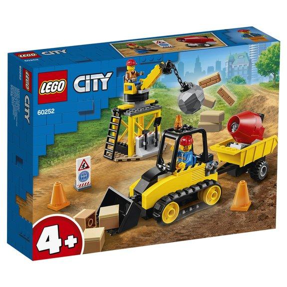 Le chantier de démolition LEGO City 60252