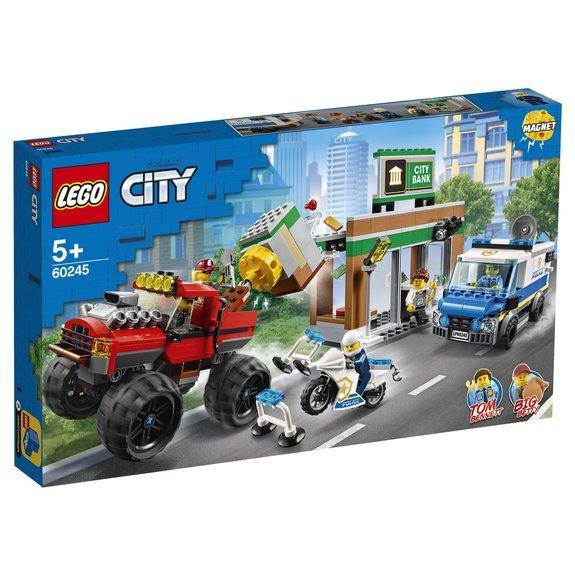 Le cambriolage de la banque LEGO City 60245
