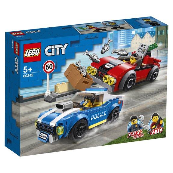 La course-poursuite sur l'autoroute LEGO City 60242