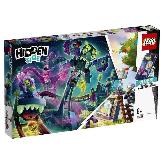 La fête foraine hantée LEGO Hidden Side 70432