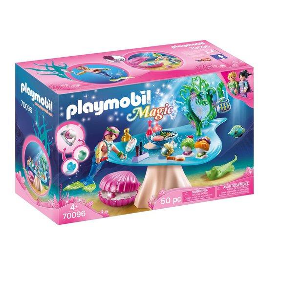 Salon de beauté et sirène Playmobil Magic 70096